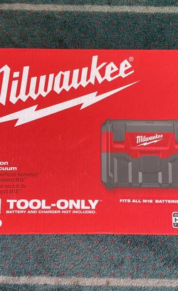 Milwaukee M18 2 Gallon Wet/Dry Vacuum Tool Only! (203259) for Sale in Laurel,  MD