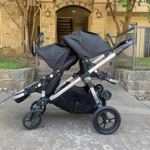 City Select Deluxe by Baby Jogger Double Stroller for Sale in Cedar Park, TX