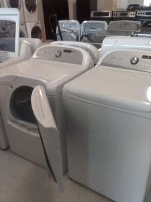 Whirlpool cabrio washer and dryer used good condition 90days warranty for Sale in Mount Rainier, MD