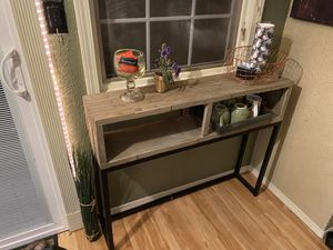 Modern Multi Surface Hallway Table for Sale in Bloomington, IL