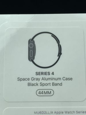 Apple Watch 44mm - Series 4 - Black - Brand New for Sale in San Diego, CA