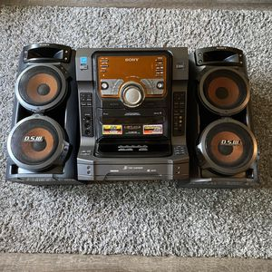 Sony Let-zx6 Speaker Radio Cassette CD Stereo System for Sale in Los Angeles, CA