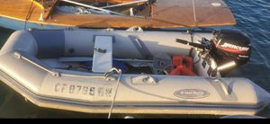12 ft Rib infladable dinghy with 9.9 outboard for Sale in Coronado, CA