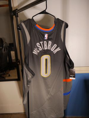 Russel Westbrook OKC City Edition Jersey Sz 3XL for Sale in Kissimmee, FL