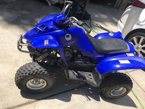 Yamaha 50cc four wheeler