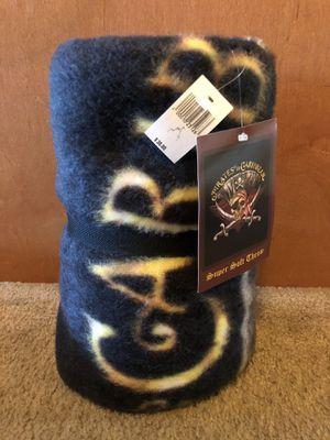 Disney Disneyland Pirates of the Caribbean Throw Blanket NEW for Sale in Stockton, CA