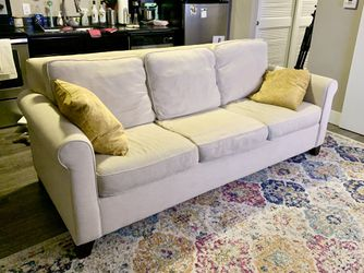 Pottery Barn Cameron Roll Queen Sleeper Sofa for Sale in Columbus,  OH