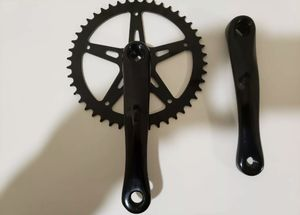 SINGLE SPEED CRANKSET 46T, 170MM Crank Arms, Square Taper, Aluminum, Forged for Sale in Brooklyn, NY
