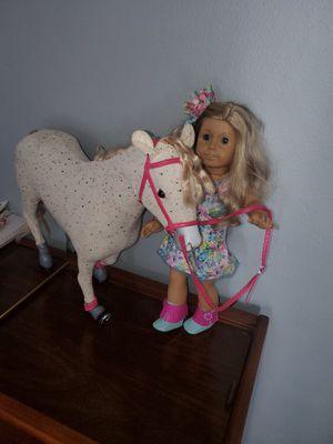 American Girl Doll & My Life Horse for Sale in Hampton, VA