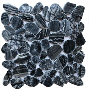 Flat Pebble Valugan Mosaic Back-splash. For kitchens/bathrooms/showers and shower floors! Stone for Sale in Doral, FL