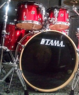 Tama Royalstar 5pc drum set with cymbals and stands & kick pedal for Sale in Oakland Park, FL