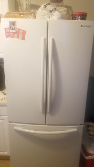 4pc Samsung French door refrigerator OTR microwave GE gas stove Dishwasher for Sale in Trenton, NJ