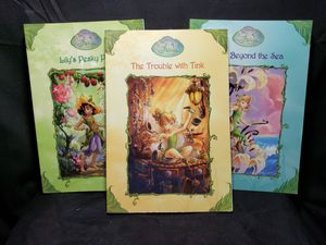 Set of 3 fairies books for Sale in South Zanesville, OH