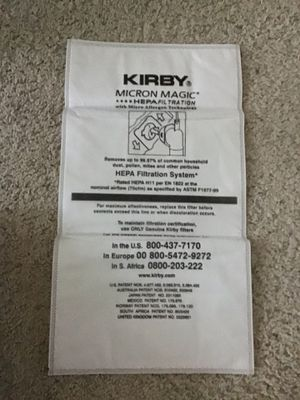 Kirby vacuum bags - $5 ea. for Sale in Fresno, CA