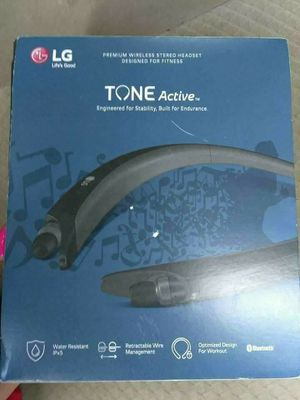 New LG Tone Active Hbs-A80 Retractable Bluetooth Headset for Sale in Austin, TX