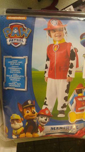 Marshall paw patrol costume for Sale in Lewisburg, TN