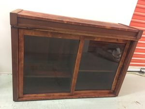 Antique glass cabinet / display shelf for Sale in Concord, CA
