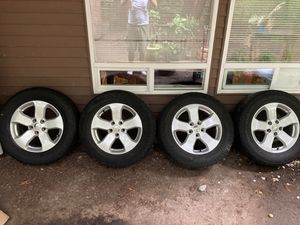 Jeep GC wheels and Tires (Toyo open country) for Sale in Bellevue, WA