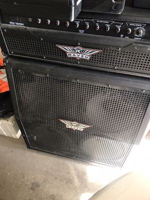 Raven half stack amplifier for Sale in Madera, CA