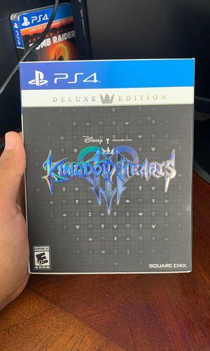 Kingdom Hearts 3 (Deluxe Edition) for Sale in Tampa, FL