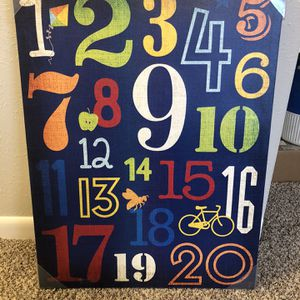 Numbers picture for Sale in Arvada, CO