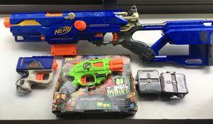 Nerf Gun Lot for Sale in Trenton, NJ