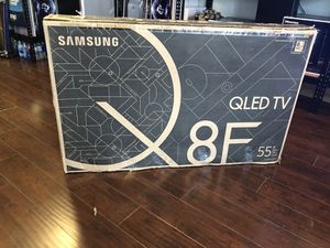 Samsung 55 inch 4K q8 qn55q8fn new with warranty 1 year for Sale in Pasadena, CA