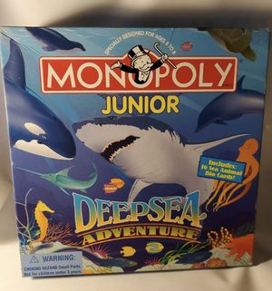 Monopoly board game for Sale in Englewood, NJ