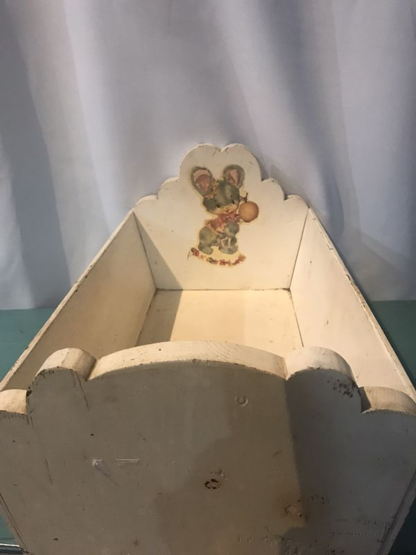 Antique Doll Cradle