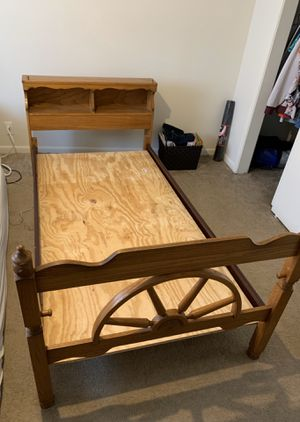 Twin Bed Frame ( Wood ) for Sale in Omaha, NE
