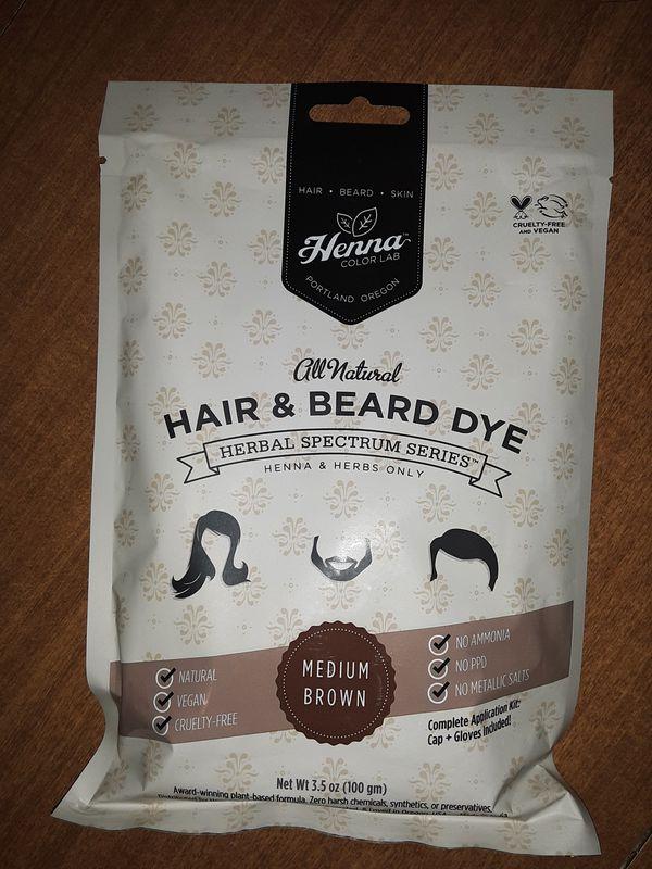 2 pack dark brown henna, new never used
