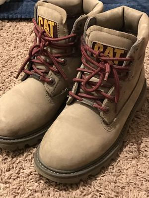 Cat work boots for Sale in Steilacoom, WA