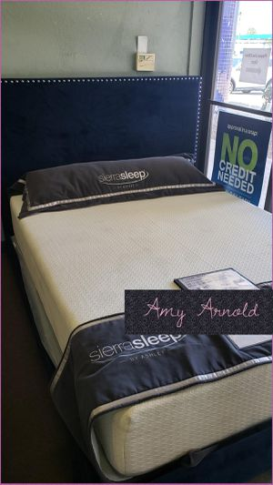 Queen Bedframe with Mattress for Sale in Glendale, AZ