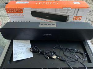 Leerfei E-91 Soundbar Smart Bluetooth Desktop Speakers for Sale in La Vergne, TN