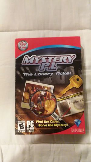Mystery P.I. (PC) for Sale in WLKS BARR Township, PA