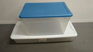 2 plastic storage containers for Sale in Scottsdale, AZ