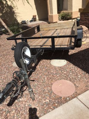 trailer 5'x 8' The ramp is dump Year 2019 Clean title Temporary plates $1,300 firm for Sale in Phoenix, AZ