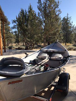 Alumaweld drift boat for Sale in Bend, OR