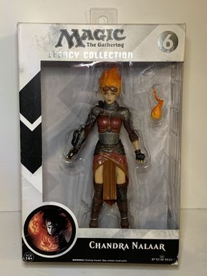 Magic The Gathering Legacy Collection Chandra Nalaar Action Figure NEW Toys for Sale in Universal City, TX