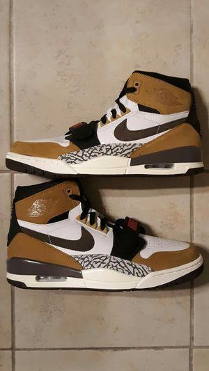 Air Jordan Legacy 312 White/Brown/Wheat AV3922-102 Men Basketball Shoes for Sale in St. Petersburg, FL