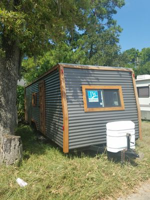 Custom built tiny home travel trailer project for Sale in Humble, TX