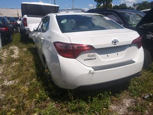 Toyota Corolla 2014 2018 full parts out for Sale in Opa-locka, FL