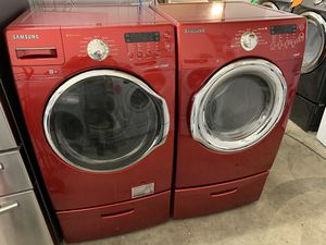 Samsung washer and gas dryer for Sale in Santa Ana, CA