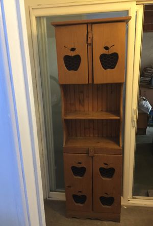 Apple cabinet for kitchen for Sale in Ceres, CA