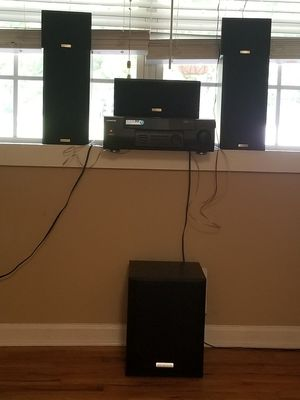 Kenwood stereo and Audio-Video Surround Receiver for Sale in Hiram, GA