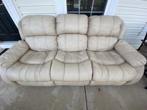 Recliner couch for sale for Sale in Leesburg, VA