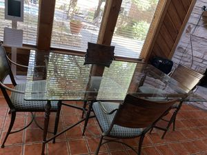 Antique Glass Table for Sale in Austin, TX