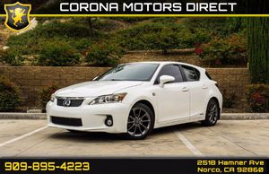 2012 Lexus CT 200h for Sale in Norco, CA