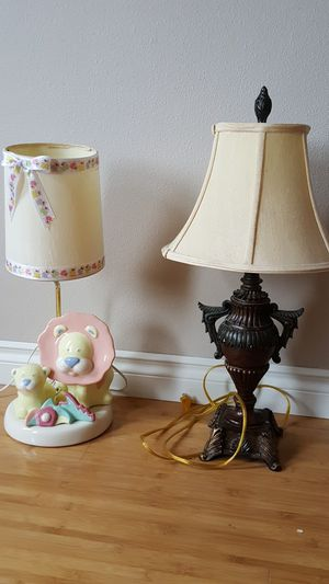 2 lamps for Sale in Puyallup, WA