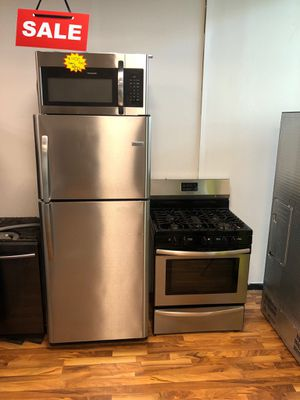 Kitchen Set Refrigerator Fridge Frigidaire Contact Today #1598 for Sale in Greenwood, IN